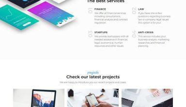 azzury wordpress theme 01 - Azzury WordPress Theme