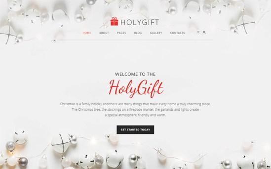 Holy Gift - Wonderful Gift Store Joomla Template