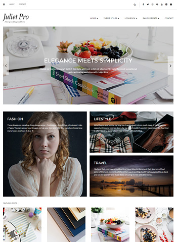 juliet pro 1 - LyraThemes WordPress Themes