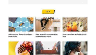 reactor wordpress theme 01 - Reactor WordPress Theme