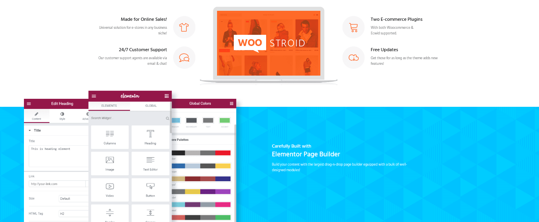 Woostroid Woocommerce WordPress Theme