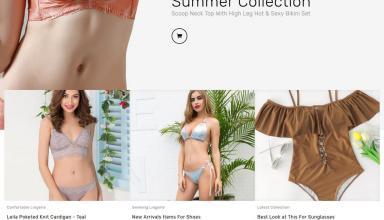 bikini swimwear prestashop theme 01 - Bikini Swimwear PrestaShop Theme