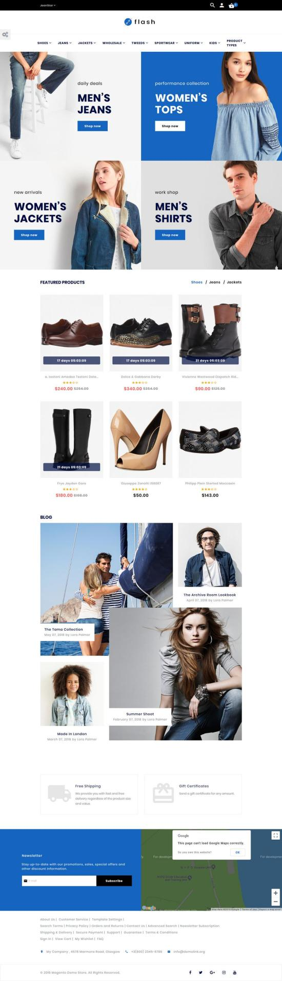 flash magento theme - Flash Magento Theme