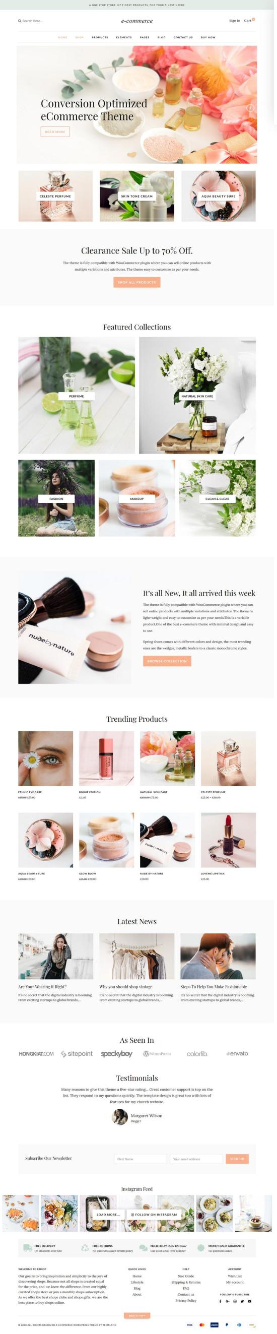 Templatic eCommerce WordPress Theme