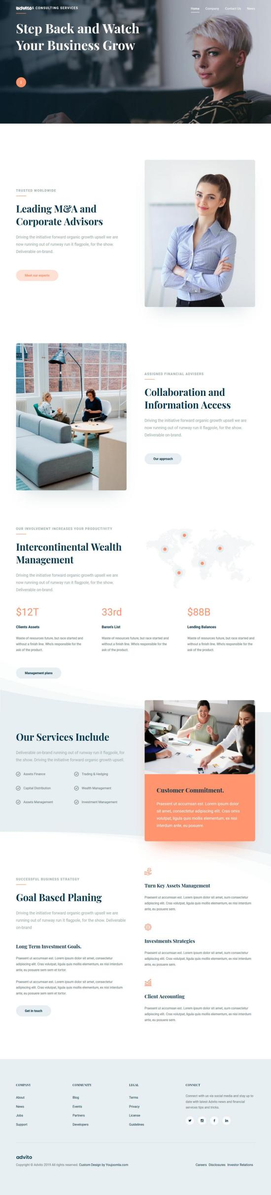 advito joomla template 01 - Advito Joomla Template