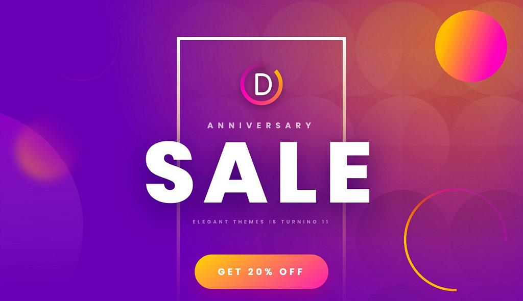 20% Off On Elegant Themes (March 2019)