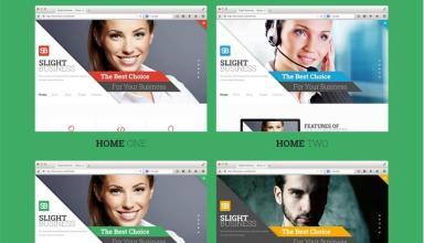 slight business joomla template 01 - Slight Business Joomla Template