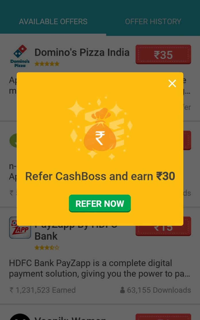 CashBoss App : Refer and Earn Unlimited Paytm cash (*Instant Redeem Proof*)