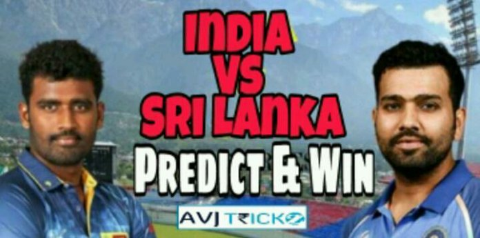 India vs Sri Lanka Predict & Win Contest