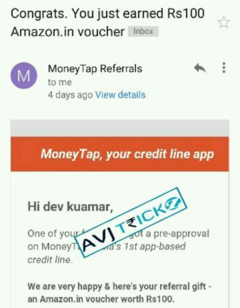 moneytap app download use moneytap app promo code & payment proof, reviews, credit line, referral code, refer and earn