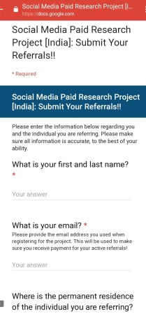 FB Research App – Earn 5$ Per Month Just By Placing App + 10$ Per Refer