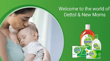 Lybrate offer - Get Free samples of Dettol and Mom kit