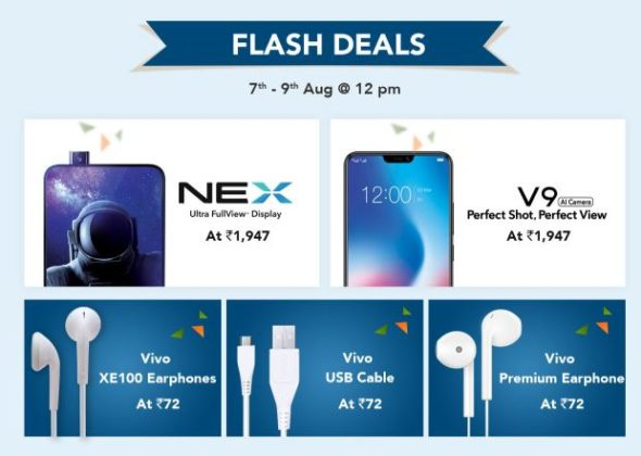 Vivo Freedom Carnival Sale - Huge Discount for Vivo Smartphons, Headphones