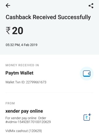 (*Maha Loot*)[Proof Added] VidMax App - Get 5 Rs Paytm Cash On Signup + 6 Rs Per Refer