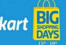 Flipkart Big Shopping Days Sale 2019