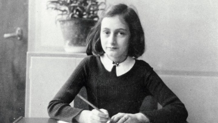 Mandatory Credit: Photo by Universal History Archive/Universal Images Group/Rex/REX USA (1532967a) Anne Frank's (1929-1945) world famous diary charts two years of her life from 1942 to 1944, when her family were hiding in Amsterdam from German Nazis. The diary begins just before the family retreated into their 'Secret Annexe'. History