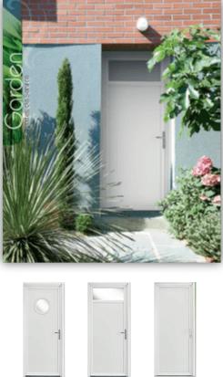 Porte entrée PVC Zendoor 7