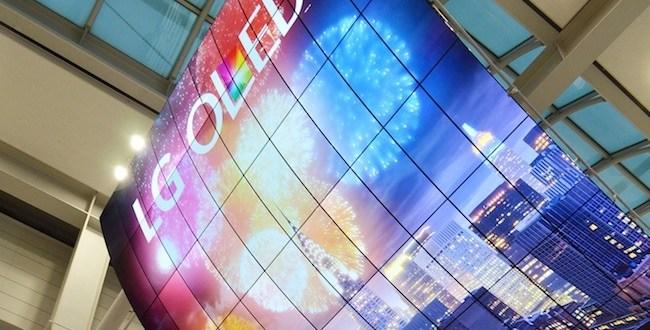 OLED מסך הגדול בעולם