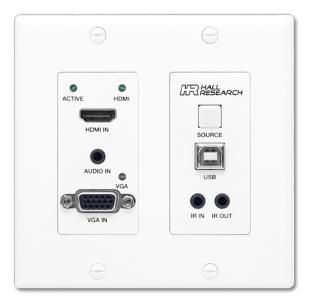 מאריך הטווח החדש של הול ריסרץ' מאפשר מיתוג אוטומטי בין מבואות VGA ו-HDMI, AVmaster