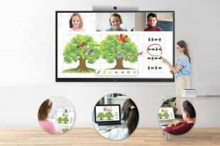 LG משיקה סדרת מסכים אינטראקטיביים לשיפור יעילות הצוותים, AVmaster