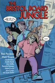 THE BRISTOL BOARD JUNGLE comic cover