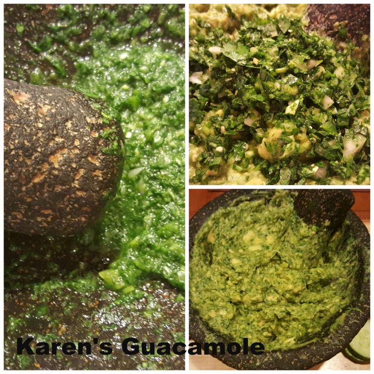 Guacamole Collage