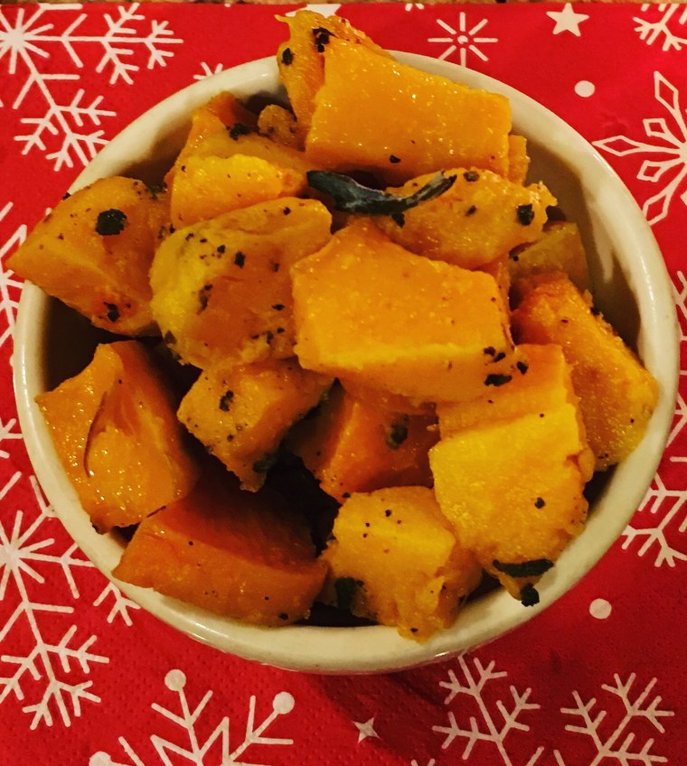 Roasted Butternut Squash and Sage