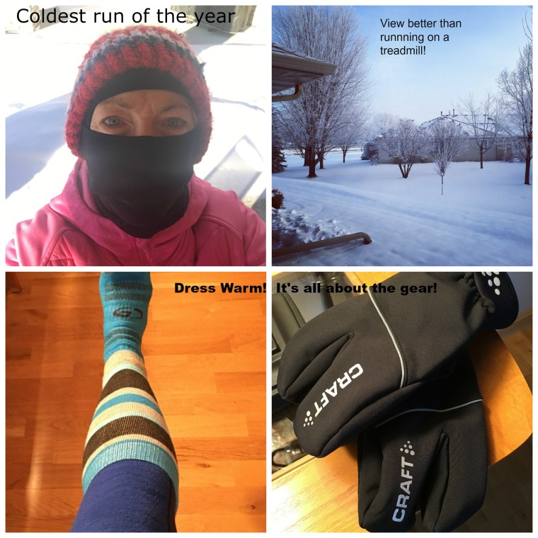 Coldest Run of the Year Collage