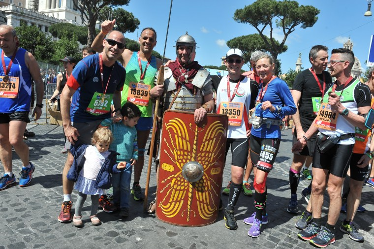 Rome Marathon Finish