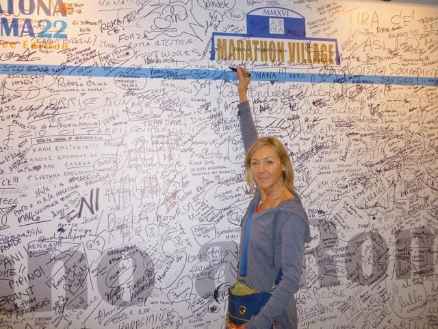 I remember writing my name on the board at my First Boston! Great Memories!
