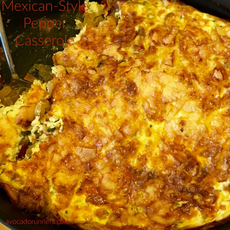 Mexican Style pepper Casserole