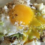 Cauliflower Toast with Guacamole and a Runny Egg1