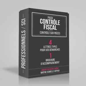 Modèles Lettres Contrôle Fiscal pour Professionnels SCI - Contrôle sur Pièces - Avocat Fiscaliste Isabelle Arpaia, ancien Inspecteur des Impôts - Paris.