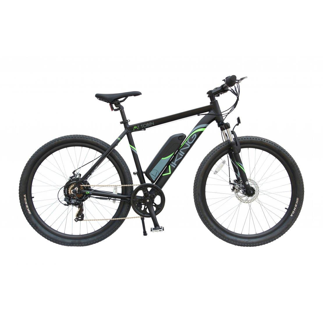 18 Mt Tobin 7 Speed 36v E Bike 650b Wheel Black