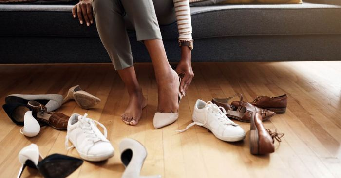 Why shoes could be responsible for your back pain