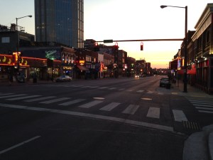 Sunrise on Broadway