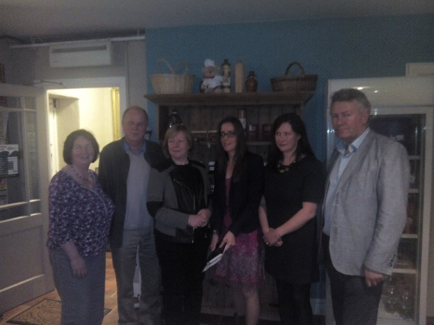 From left to right, Winifred McNulty, Paddy Bushe, Helen Healy, Helen Gatenby Holt, Denise Nagle, Ger Reidy