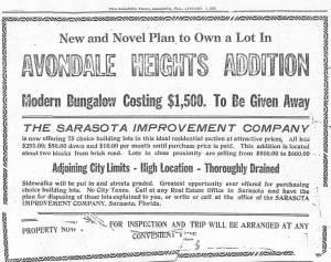 Avondale advertisement 1-7-1915