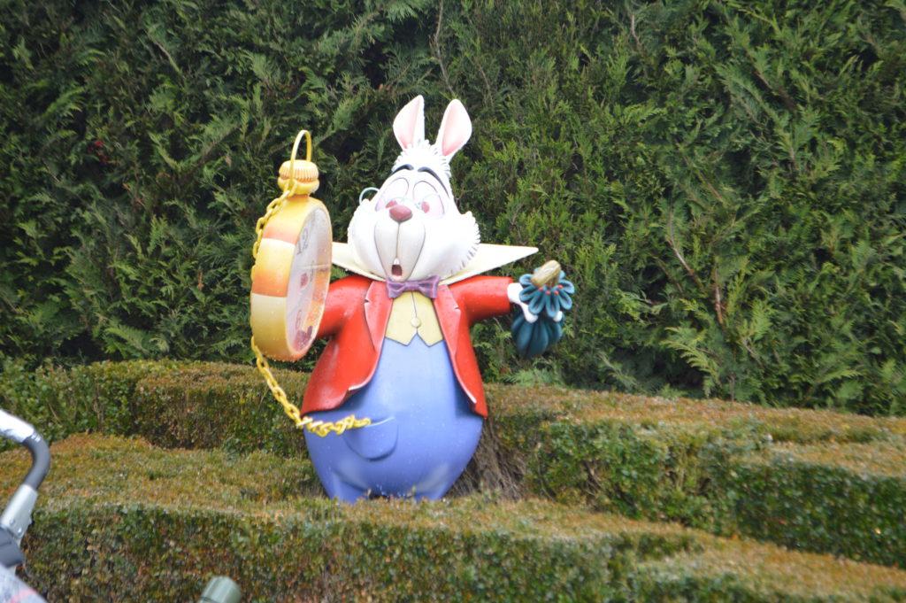 wachtrij in Disneyland Parijs