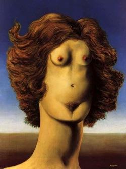 René Magritte Le Viol