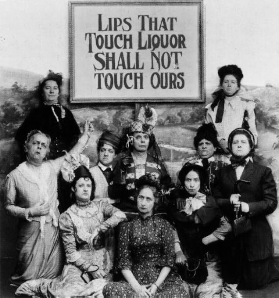 ligue anti alcool 1919
