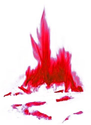 feu sanglant