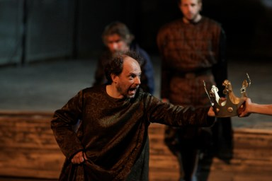 Denis Podalydès dans Richard II