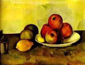 Les Pommes - Nature morte - Cézanne