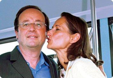 François Hollande et Ségolène Royal
