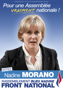 Nadine Morano au Front National