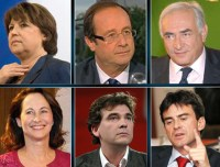 Primaires socialistes : François Hollande devant DSK et Montebourg
