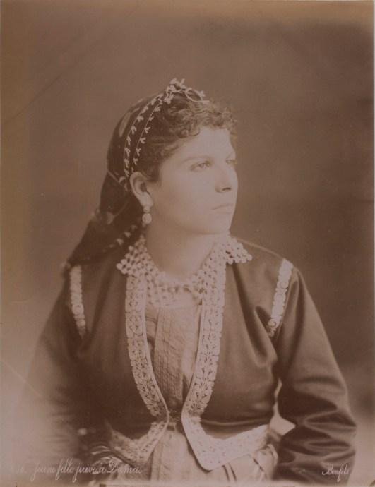 bonfils Jewish Damascus girl 2