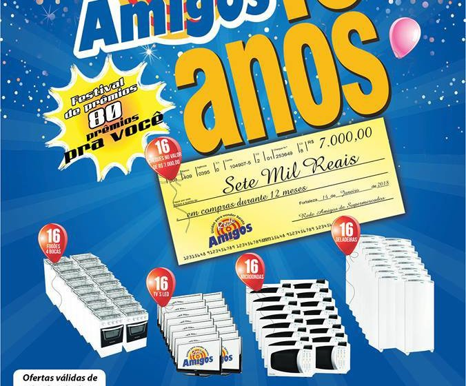 Itapiúna: Conheça as ofertas do Mercantil A.R Santos para mês de novembro