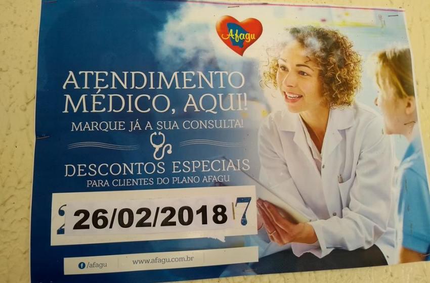 Dia 26 tem atendimento médico na AFAGU em Itapiúna